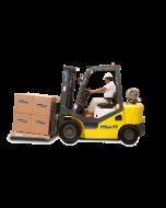 Montacargas Dual Gas/Gasolina 5000lbs Triplex FG-25XT Multilift Dar clic para mayor información