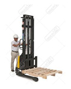 Apilador Hidráulico Patas ajustables 1500kg HSEW-1500N Dar clic para mayor información
